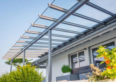 Pergola vitrée de qualité sur mesure en Suisse | Georjon SA