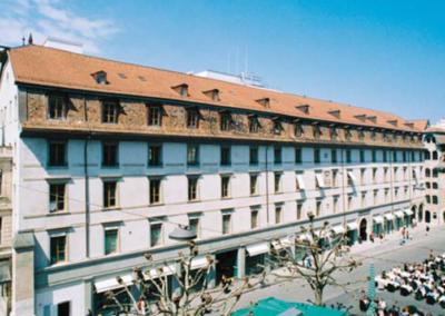 Place du Molard à Genève