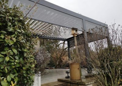 Pergola bioclimatique à Genève | Georjon SA
